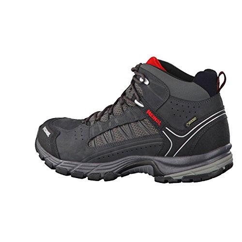 Meindl  5274 31,  Scarponcini da camminata ed escursionismo uomo grigio Grau Antracite/Rosso