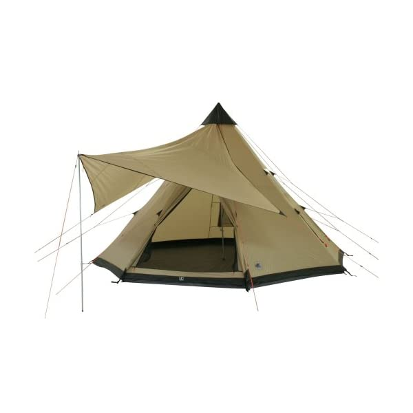 10T Outdoor Equipment Waterproof Shoshone 500 Unisex Outdoor Teepee Tent available in Beige  - 10 Persons 1