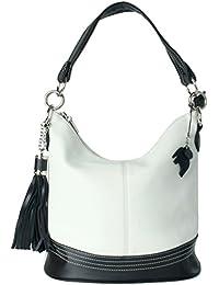 BHBS Femmes Mode Haut Manipuler Seau Shape épaule Sac Cartable 34x28x18 cm (LxHxP)
