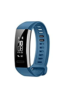 Huawei Band 2 Pro Activity Tracker Smart Fitness Wristband with GPS, Multi-Sport, Model, Heart Rate, Sleep Monitor, 5ATM Waterproof (Eris-B29 Blue)
