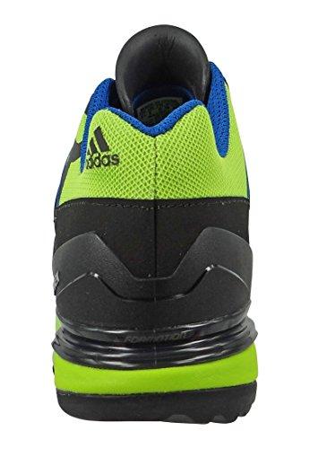 adidas Unisex-Erwachsene Terrex Fast R Trekking-& Wanderhalbschuhe blau/grün