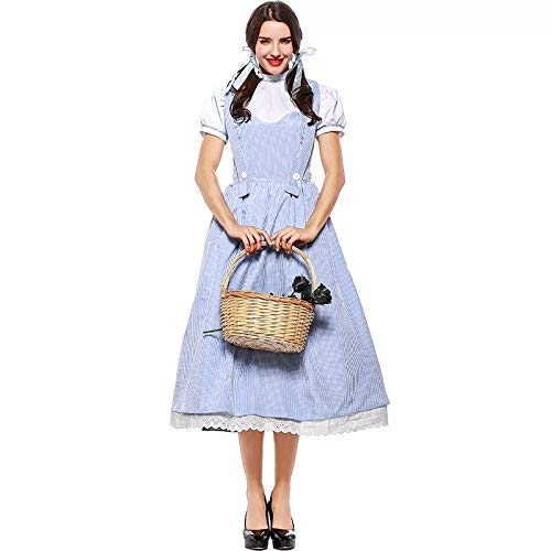 Für Kostüm Oz Dorothy Erwachsene - FHSIANN Damen Erwachsenen Dorothy Der Zauberer Von OzKostüm Halloween Outfit S-XXXL Phantasie Hosenträger