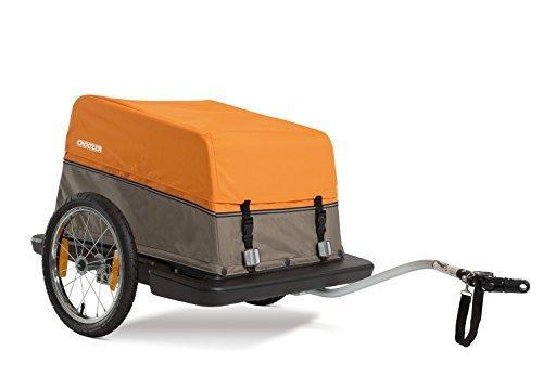 Croozer Cargo - 2 in 1 Cargo Trailer Orange / Sand by Croozer