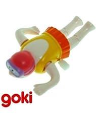 Goki - Jouet mécanique Nageur Jeu Jouet de bain Enfant 4 ans + - Rose