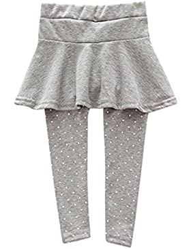 erthome Trendy Wärmer Baby Mädchen Culotte Kind Flecken Hosen Röcke Hosen Legging