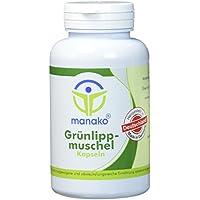 manako Grünlippmuschel Kapseln, 150 Stück, Dose a 90 g (1 x 150 Kapseln) preisvergleich bei billige-tabletten.eu
