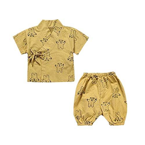 (Sommeranzug für Kinder Staresen Kurzarm T Shirt 2019 Mode Kinder T Shirt Männliche und weibliche Kleidung Schnürservice zu Hause)