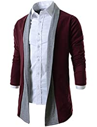 Boom Fashion Homme Combinaison Sweat-shirt Pull Cardigan