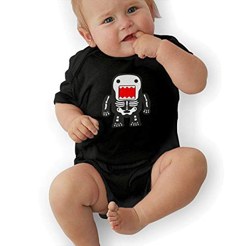 Bodys & Einteiler,Babybekleidung, Baby one-Piece Suit,Baby Jumper,Pajamas, Bodysuits Baby, Funny Cool Domo-kun Skeleton Baby Girls' Cotton Bodysuit Baby Clothes