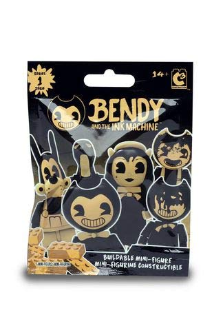 Basic Fun! Bendy And The Ink Machine Construction Buildable Mini Figure