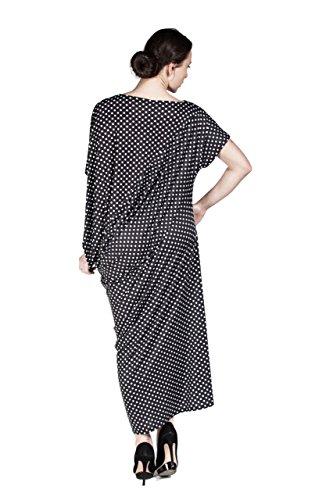 Hüseyin Kücük - Robe - Colonne - Femme Multicolore Multicolore 36 klein gepunktet