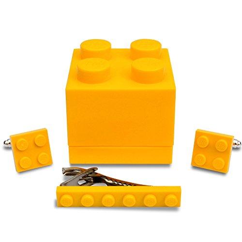 SJP Cufflinks LEGO® placa Gemelos & Corbata Slide