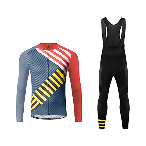 Uglyfrog 2018-2019 Cycling Kit Radsport Anzüge Herren Long Rennrad Trikots + Lange Bib Hosen Gel Pad Spring Triathlon Clothes Radanzug-Zwei Stücke