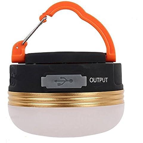 Expower Mini Lampada Ricaricabile da Campeggio, Torcia