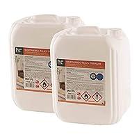 Unser Bio Ethanol für Deko-Kamine ist in Deutschland hergestellt, TÜV zertifiziert und sorgsam geprüft. So erhalten Sie von uns ausschließlich reines, hochwertiges 96,6-prozentiges Bio-Ethanol, das völlig rückstandsfrei zu Wasserdampf und Kohlendioxi...