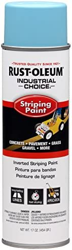 INDUSTRIAL CHOICE S1600 System Inverted Striping Paint Blue 1627838