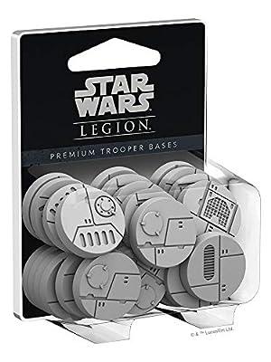 Star Wars SWL28 Legion - Premium Trooper Bases, Multicolore - Version Anglaise
