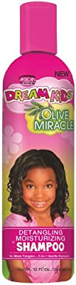 African Pride Dream Kids Olive Miracle Detangling Shampoo 360 ml (Pack of 6) - Read Reviews