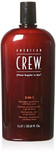 American Crew Champú + Acondicionador + Body Wash