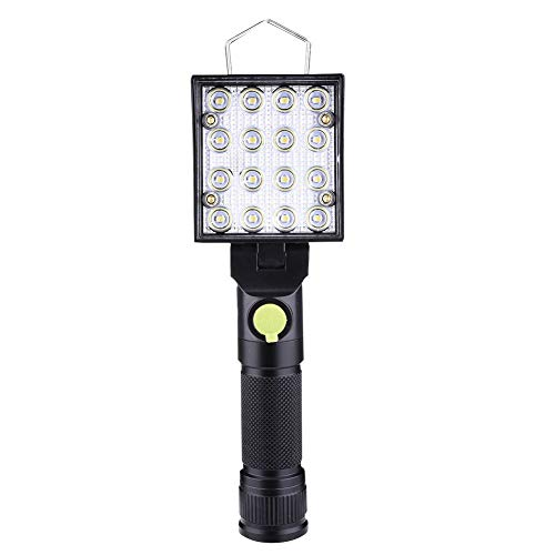 WPFC LED-Arbeits-Lampe USB Aufladbare Taschenlampe Notblitzleuchte, Bewegliche Laterne Fackel Für Outdoor-Camping-Auto-Reparatur-Lampe