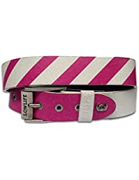 Lowlife of London - Ceinture - Homme rose Fade Pink
