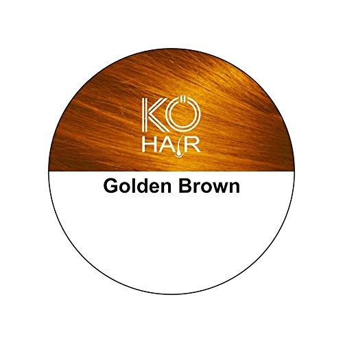 KÖ-HAIR Fibers Relleno para el cabello para un aumento del cabello Color marrón de oro