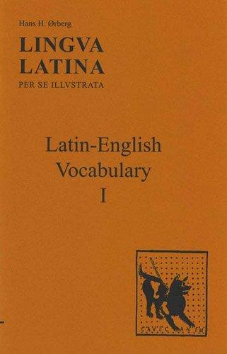 Lingua Latina per se Illustrata: Latin-English Vocabulary I by Hans H. ????rberg (1998-07-01)