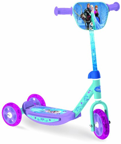 FROZEN Disney Tri-Scooter with Adjustable Handlebar