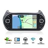 YUNTX Android 9 Autoradio Compatibile con Fiat Fiorino/Qubo/Citroen Nemo/Peugeot Bipper Radio - Telecamera Posteriore Gratuita - 7 ' Touch Screen - 2GB/32GB -Supporto DAB+/4G/WiFi/Bluetooth/MirrorLink