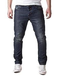 98-86 Herren Straight Leg Jeans 5-Pocket Jeanshose 15666