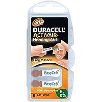 60 x Duracell Activair Hörgerätebatterien Typ 312 braun - Mercury Free 0% Hg