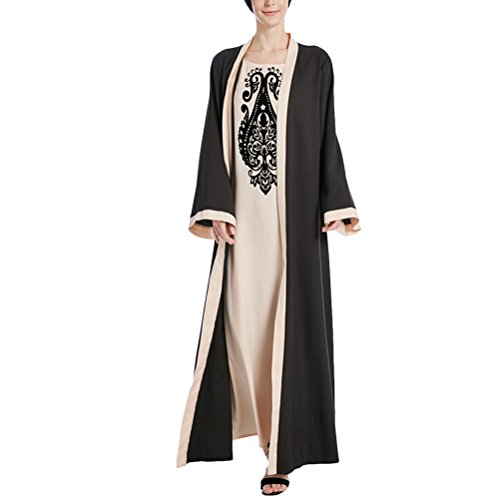644f261fc3c Zhuhaitf Qualität und Schönheit Soft Comfort Print Dress Women Long Dresses  Clothing for Moroccan Kaftan Caftan Dress