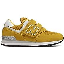 new balance hombre 574 amarillas