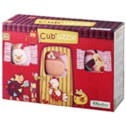 Lilliputiens - 86411 - Cubes puzzle - 6 Pièces