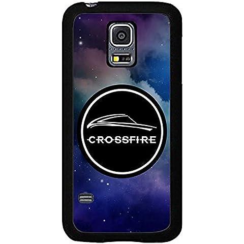 CrossFire CustodiaCase for Samsung S5 Mini Game CrossFire Galaxy S5 Mini Cabina telefonica, Pretty CrossFire (1037 Vinyl)