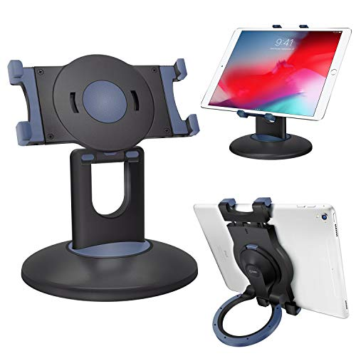 Cellet Tablet-Halterung mit verstellbarem Ringständer, um 360 Grad drehbar, kompatibel mit iPad Pro 11/Pro 12.9/Mini 4, Galaxy Tab S4, Microsoft Surface Pro und den meisten 20,3-33 cm Tablets -