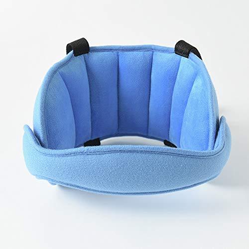 DIVAND Schlafen Sie bequem auf The Go Child Head Support, Baby Car Seat Head und Neck Support-The Best Car Seat Neck Relief und Head Support Band,Blue