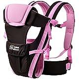 4posiciones transpirable ergonómico Baby Carrier funcional ajustable 3d mochila hebilla de seguridad delantera y trasera canguro para 0–3años bebé sling frontal recién nacido Wrap