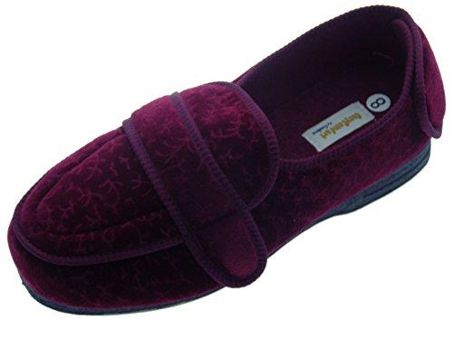 Coolers cosycomfort ortopédico Zapatillas, Color Rojo, Talla 40