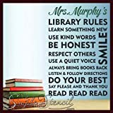 #7: Quality Star Poster Scenery of Library 3D Sign 12x12 inch Sheet Digital Print of Quotes