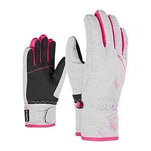 Ziener Kinder LUFFI AS glove junior Ski-Handschuhe/Wintersport, wasserdicht, atmungsaktiv, Persian Blue, 3