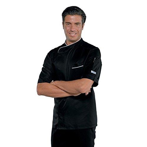 Isaak (Erzvater)–Jacke Koch Bilbao–Schwarz Weiß–L