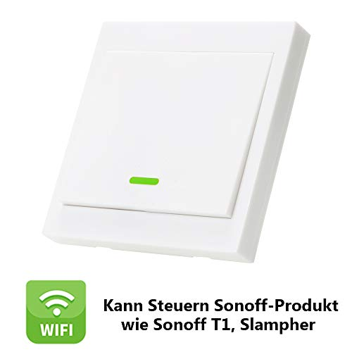 Amazon.de - 433MHz RF Wireless Remote Control Switch 86 Wall Panel Transmitter (With 1 button)