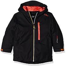 CMP – F.lli Campagnolo,   - Chaqueta de esquí para chico, otoño/invierno, niño, color negro, tamaño 8 años (128 cm)