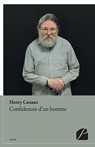 En ligne Confidences d'un homme epub, pdf