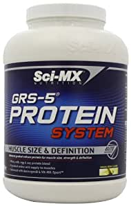 Sci-MX Nutrition GRS-5 Protein System 2280 g Banana Muscle Size and Definition Shake Powder