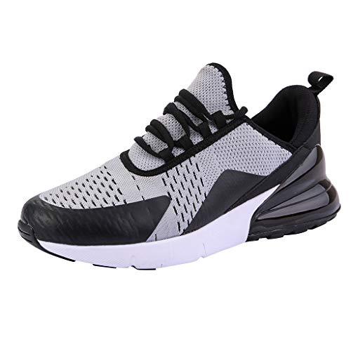 NMERWT Sportschuhe Herren Damen Laufschuhe Air Cushion Luftkissen Sneakers Turnschuhe Fitness Gym Leichtes Bequem Schuhe