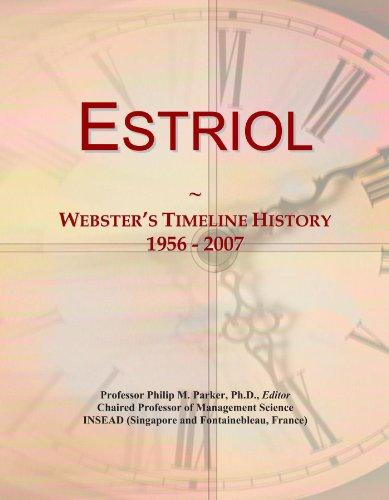 Estriol: Webster's Timeline History, 1956 - 2007
