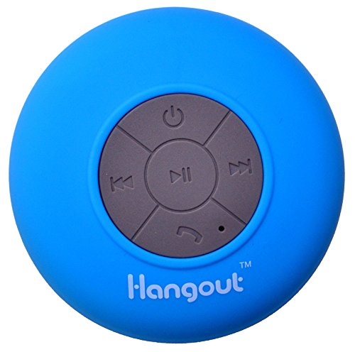 New Year Sale Chirstmas Hangout Latest HBT-201 Waterproof Bluetooth Speaker (Blue)