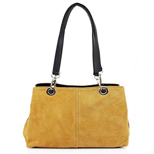 Elegant Fashions, Borsa a spalla donna Yellow